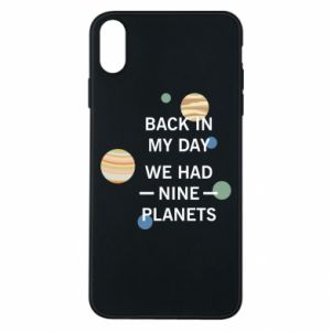 Etui na iPhone Xs Max Back in my day we had nine planets