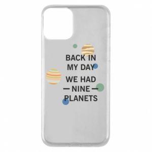 Etui na iPhone 11 Back in my day we had nine planets