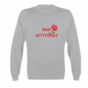 Bluza dziecięca Bad attitudes
