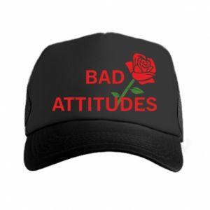 Czapka trucker Bad attitudes
