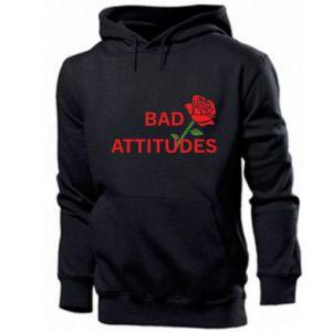Bluza z kapturem męska Bad attitudes