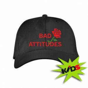 Czapeczka z daszkiem dziecięca Bad attitudes