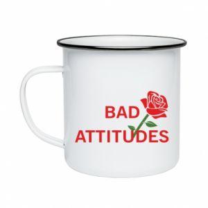 Kubek emaliowany Bad attitudes
