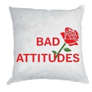 Poduszka Bad attitudes