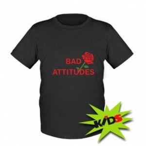 Koszulka dziecięca Bad attitudes