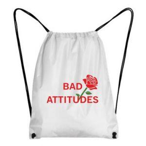 Plecak-worek Bad attitudes