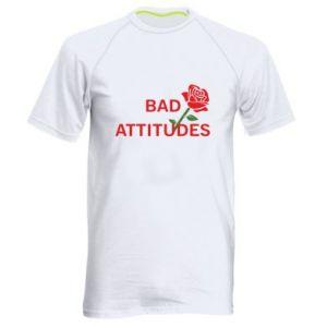 Koszulka sportowa męska Bad attitudes