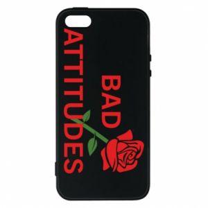 Etui na iPhone 5/5S/SE Bad attitudes