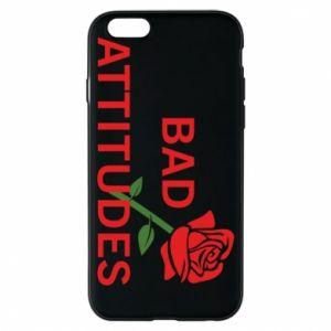 Etui na iPhone 6/6S Bad attitudes