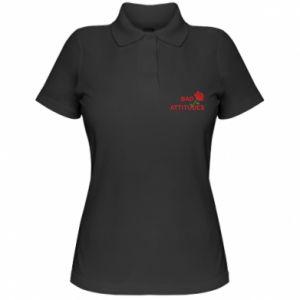 Koszulka polo damska Bad attitudes