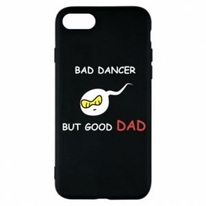 Etui na iPhone 8 Bad dancer but good dad