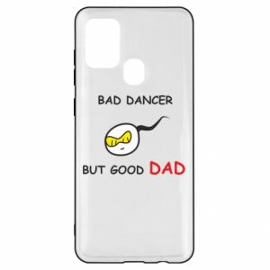 Samsung A21s Case Bad dancer but good dad