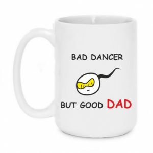 Mug 450ml Bad dancer but good dad - PrintSalon