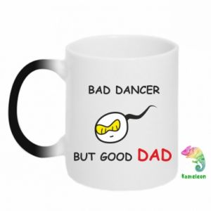 Chameleon mugs Bad dancer but good dad - PrintSalon