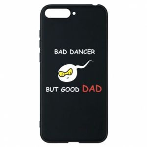 Etui na Huawei Y6 2018 Bad dancer but good dad