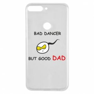Etui na Huawei Y7 Prime 2018 Bad dancer but good dad