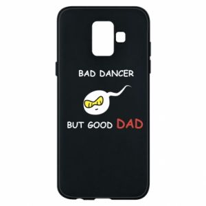Etui na Samsung A6 2018 Bad dancer but good dad