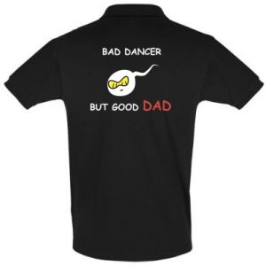 Men's Polo shirt Bad dancer but good dad - PrintSalon
