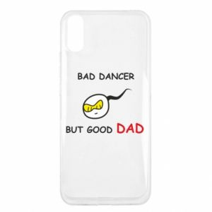 Xiaomi Redmi 9a Case Bad dancer but good dad