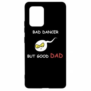 Samsung S10 Lite Case Bad dancer but good dad