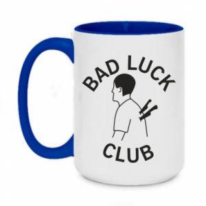 Kubek dwukolorowy 450ml Bad luck club