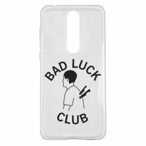 Etui na Nokia 5.1 Plus Bad luck club
