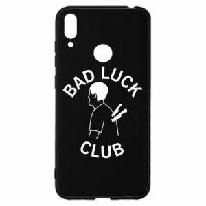 Etui na Huawei Y7 2019 Bad luck club