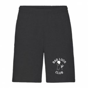 Men's shorts Bad luck club - PrintSalon