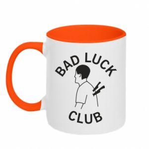 Kubek dwukolorowy Bad luck club