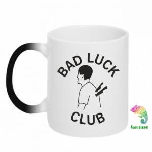 Chameleon mugs Bad luck club - PrintSalon