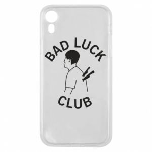 Phone case for iPhone XR Bad luck club - PrintSalon