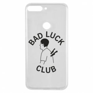 Phone case for Huawei Y7 Prime 2018 Bad luck club - PrintSalon