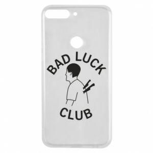 Etui na Huawei Y7 Prime 2018 Bad luck club