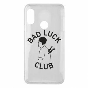 Phone case for Mi A2 Lite Bad luck club - PrintSalon