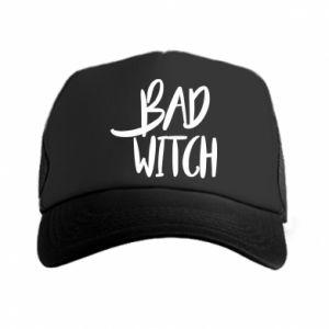 Czapka trucker Bad witch