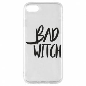 Phone case for iPhone 7 Bad witch - PrintSalon