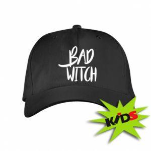 Dziecięca czapeczka z daszkiem Bad witch