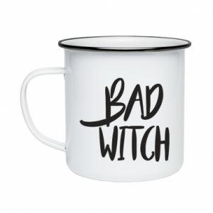 Enameled mug Bad witch - PrintSalon