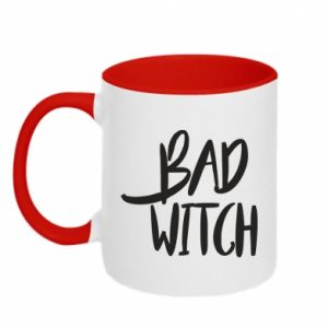 Two-toned mug Bad witch