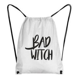 Backpack-bag Bad witch - PrintSalon