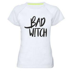 Damska koszulka sportowa Bad witch