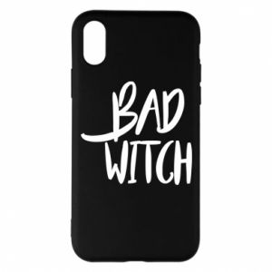 Phone case for iPhone X/Xs Bad witch - PrintSalon