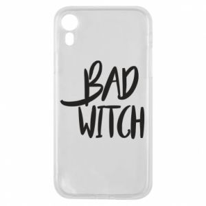 Phone case for iPhone XR Bad witch - PrintSalon