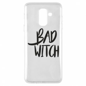 Phone case for Samsung A6+ 2018 Bad witch - PrintSalon