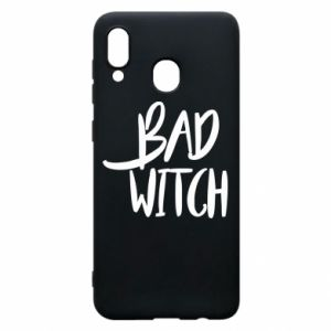 Phone case for Samsung A20 Bad witch - PrintSalon