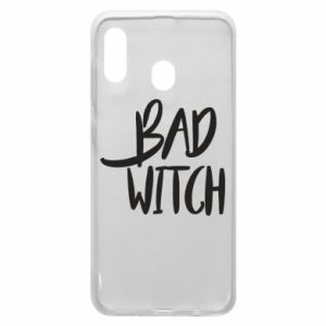 Phone case for Samsung A30 Bad witch - PrintSalon