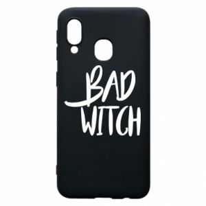 Phone case for Samsung A40 Bad witch - PrintSalon