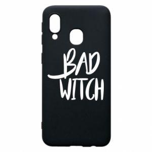 Etui na Samsung A40 Bad witch