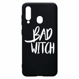 Phone case for Samsung A60 Bad witch - PrintSalon