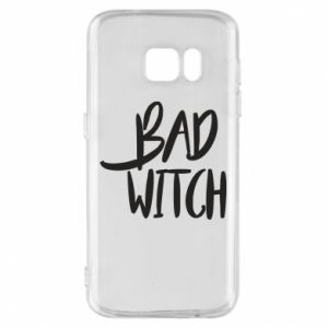 Phone case for Samsung S7 Bad witch - PrintSalon